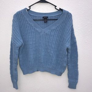 [Rue21] Pastel Blue Knit Sweater